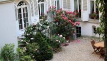 jardin dans une cour