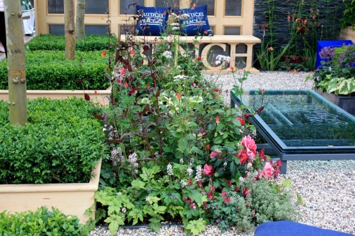 plantes pour jardin de cour